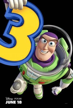 Image of Buzz Lightyear from the Disney/Pixar Toy Story franchise. Toy Story 3 Movie, Toy Story Party, Cumple Toy Story, Festa Toy Story, Pixar Movies, Disney Movies, Disney Pixar, Hd Movies, Movies Online