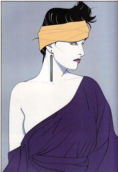 Partrick Nagel illustration