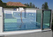 Piscinas de cristal, piscinas acuario #pool #piscina #piscinadecristal #design