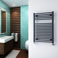 Sèche-serviettes plat Anthracite 800 x 600mm - 384 watts - Image 1