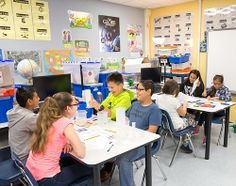 About 700 students make their way through Rudy Vidal's STEM lab each week at Sky Harbour Elementary School, conducting experiments and exploring activities tied to various careers...