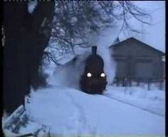 Steam in the snow. When the engine is passing at 1:15 and the fire box is opened there's a fantastic glow. Love this video.