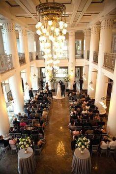 The Nashville #Schermerhorn Symphony center makes for a stunning ceremony site