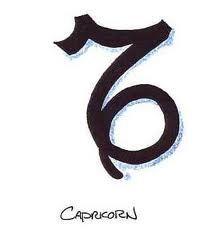 Capricorn tattoo. Maybe to signify Davis (Capricorn)