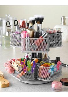 Makeup storage ideas - Kozmetik ve bakım ürünleri için düzenleme önerileri