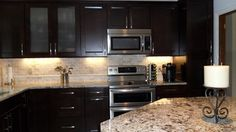"""carolina Summer"" Granite Design Ideas, Pictures, Remodel and Decor *backsplash*"