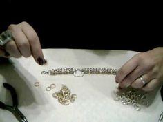 tutorial chainmail - maglia bizantina 1/3 - YouTube