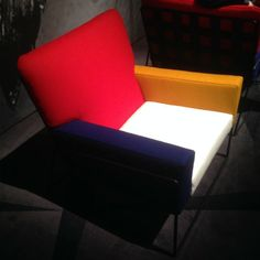 À la Mondrian: Sessel bei Moooi