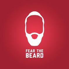 James harden fear the beard logo - photo#32