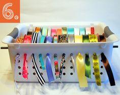10 prácticas Ideas para ordenar tu cuarto de costura y dejarlo requetebien