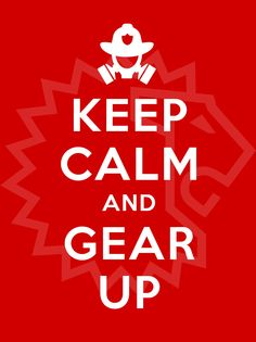 Keep Calm and Gear Up | Shared by LION