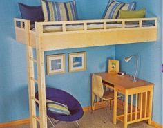diy built in loft bed ideas