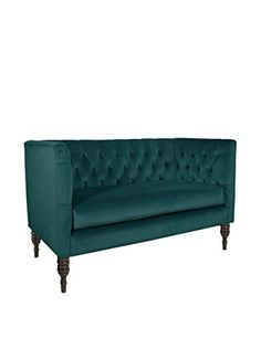 www.myhabit.com  Featuring elegant diamond tufting and a solid pine frame, this lovely settee is ideal for nearly any decor