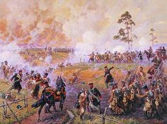 Averyanov Aleksandr Yurevich Major-General AJ Delzon in the battle for Maloyaroslavets 12 (24) October 1812