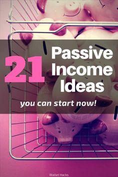 It might seem like passive income is a dream but there are things regular folks can do to earn income on the side and sometimes it just takes a little creativity to find them! | passive income | get started with passive income | make money | earn extra money | how to make passive income || Wallet Hacks #makemoneyonline #makemoney