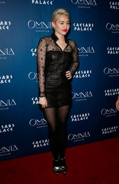 World Country Magazines: Singer, Actress @ Miley Cyrus - Omnia Nightclub at Caesars Palace in Las Vegas
