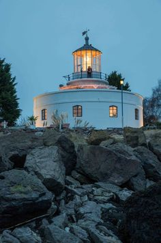 You might recognize the West Usk Lighthouse hotel in Newport (Wales) from our latest TV adverts...