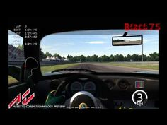 Assetto Corsa tp - onboard: my 1st run - YouTube