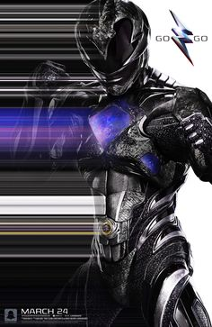 #GoGo Zack the #BlackRanger! #PowerRangersMovie - In theaters March 24, 2017.