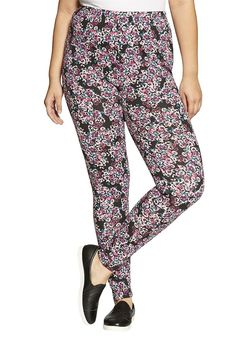 2bf31c2e318ac9 Women's Plus Size Print Leggings * See this awesome image : Plus size  leggings