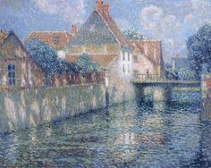 Henri Eugene Augustin Le Sidaner was an French painter, known for working in the Intimist style Le Sidaner began his career around 1880 as a young apprentice of Alexandre Cabanel at the École des Beaux-Arts in Paris. Charles Gleyre, Modern Art, Contemporary Art, Maurice Denis, Berthe Morisot, Pierre Auguste Renoir, Henri Matisse, Claude Monet, French Artists