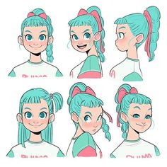 Fantasting Drawing Hairstyles For Characters Ideas. Amazing Drawing Hairstyles For Characters Ideas. Female Character Design, Character Design References, Character Drawing, Character Design Inspiration, Character Illustration, Character Concept, Concept Art, Illustration Art, Art Illustrations