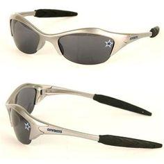 dallas cowboys tattoos for women   COWBOYS-02 - Dallas Cowboys Sunglasses (Silver Trim)