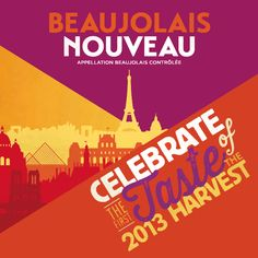 Beaujolais Nouveau Day is upon us (Nov 21, 2013) so invite the gals over for an inexpensive, wine-themed girl's night with a little French flair. Ooh la la! | Angee's Eventions: Beaujolais Nouveau Party, Ooh la la!