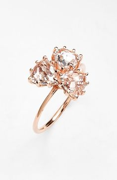 KALAN by Suzanne Kalan Triple Trillion Stone Ring available at #Nordstrom