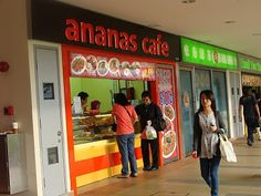 Ananas Cafe - Nah, ininih makanan halal paling murah di Singapura. Chicken rice for only 2 dollars dan nasi lemak for only 2.50 sgd. Rata-rata kafenya terletak di dekat stasiun-stasiun MRT. #SGTravelBuddy