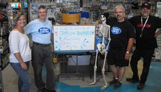 Kornicky and Mel of Rebel FM came to visit the Hobby Centre with James Earl Bones! Rebel, Bones, Centre, Memories, Dice