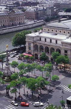 Teatro do Châtelet. Paris, França.