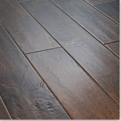 Flooring option -Jasper Harbors Collection - Handscraped Birch Engineered Wood Flooring This floor would look good in the room. Birch Floors, Real Wood Floors, Engineered Hardwood Flooring, Hardwood Floors, Hardwood Floor Colors, Flooring Options, Flooring Ideas, Dark Wood, Cosmopolitan