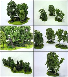 Trees modular terrain