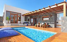 Villa San Luis mit Vulkanlandschaft auf Fuerteventura