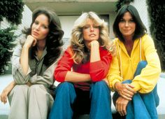 In disguise on Charlie's Angels, 1976.