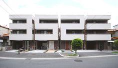 Number House By Matsunami Mitsutomo. L'architetto giapponese Matsunami Mitsutomo ha progettato Number House, un edificio numerato, ad Osaka, Giappone. Via waitmag.com