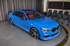 Santorini Blue BMW M760Li xDrive Looks Like A Toy Car