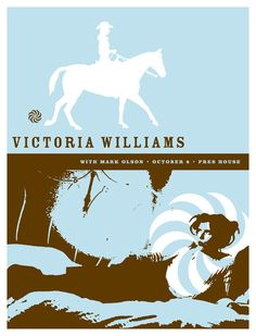 GigPosters.com - Victoria Williams - Mark Olson
