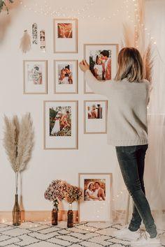 DIY déco : un mur de cadres bohème - C by Clemence Photo Cabine, Style Retro, Jolie Photo, Decoration, Frames, Photo Wall, Gallery Wall, Blog, Life