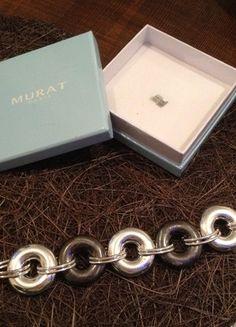 A vendre sur #vintedfrance ! http://www.vinted.fr/accessoires/bracelets-and-joncs/18955898-bracelet-murat-argent