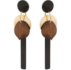 Taino Statement Long Drop Earrings