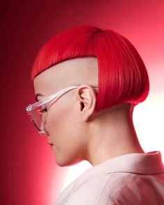 Edgy Short Haircuts, Stylish Haircuts, Short Bob Hairstyles, Short Hair Cuts, Short Hair Styles, Bob Haircut With Bangs, Haircut For Thick Hair, Bob Bangs, Bobs For Thin Hair