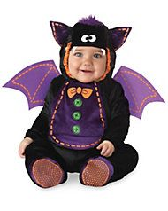 Itty-Bitty Bat Costume for Baby