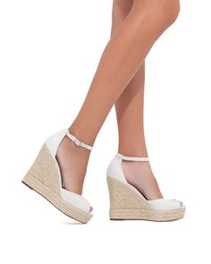 white espadrilles remind me of sunshine and sea