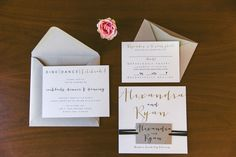 every last detail | wedding inspiration | wedding stationery | invites | gold | blush | glitter | invitations