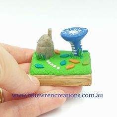 Whimsical hand sculpted miniature plants and animals to inspire and spark joy in your home. Follow Blue Wren Creations along on FB, Instagram or sign up for all the news on the website. Miniature Plants, Miniature Fairy Gardens, Polymer Clay Miniatures, Polymer Clay Art, Fairy Garden Houses, Australian Art, Wren, Sculpting, Whimsical