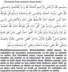 """Sabah akşam 3 defa bu duayı okuyanın dünya ve ahireti için hayırlı dileği kabu olur. Okunacak dua; """"Bismillahirrahmanirrahim.Elhamdülillâhi rabbil âlemin.Ve …"""