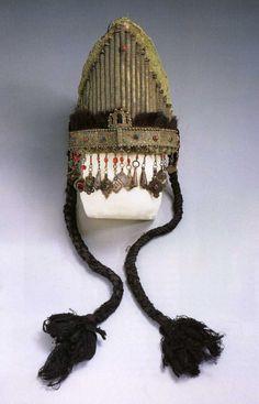 Jewish Bride´s Head Dress- Dra´ Valley Morocco 19th century, Musee Du Quai branly