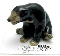 "Little Critterz Miniature Porcelain Animal Figure Asian Elephant /""Max/"" LC429"